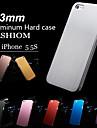 Тонкий жесткий футляр из  матового алюминия для iPhone 5/5S (цвета в ассортименте)