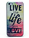 Live and Life of Sea Pattern Hard Case for iPhone 4/4S iPhone Cases