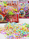 Z&X®  Loom Bands Handmade(Rubber Band 300PCS、Recycle Crochet Hook、Recycle S Hook、Instructions)