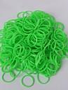 BaoGuang®600pcs Rainbow Color Loom Fluorescent Fashion Loom Rubber Band(1pcs Crochet,24pcs Hook,Assorted Colors)