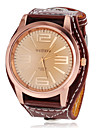 Women's Simple Round Dial PU Band Quartz Analog Casual Watch (Assorted Colors) Cool Watches Unique Watches
