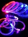 LED piscando pulseira partido design de plástico levou bastão de luz (x1pcs cor aleatória)