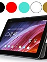 caso da tampa do tablet couro seda luxo tímido urso ™ para o transformador asus pad tf103c de 10,1 polegadas