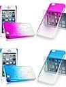 3d pluie étui rigide transparent pour iPhone 5c (couleurs assorties)