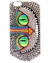 Yeux verts de hiboux motif tpu étui souple pour iphone 6 / 6s iphone cas