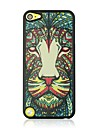 Lion Leather Vein Pattern Hard Case for iPod touch 5