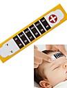 testa febre frio thermoeter garoto tira bebê criança adulto temperatura de ensaio de verificação