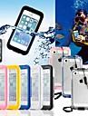 Coque Pour iPhone 5 Apple Coque iPhone 5 Imperméable Coque Intégrale Couleur unie Dur PC pour iPhone SE / 5s