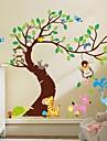 경치 동물 정물 Leisure Fantasy 보타니칼 벽 스티커 플레인 월스티커 데코레이티브 월 스티커, 비닐 홈 장식 벽 데칼 벽