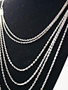 Silver Chain Necklaces Alloy Wedding / Party / Daily / Casual Jewelry
