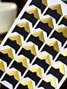 adhesivo protector de la esquina foto diy de oro (24 pegatinas / pcs)