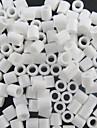 environ 500 pieces / sac 5mm perles fusibles blancs perles hama bricolage puzzle eva materiel safty pour les enfants artisanat