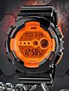 SKMEI Hommes Montre de Sport Montre numérique LED LCD Calendrier Chronographe Etanche penggera Numérique Caoutchouc Bande Noir
