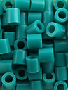 aprox 500pcs / saco de 5 milimetros lago azul fusiveis contas hama contas diy-cabeca eva safty material para criancas artesanato