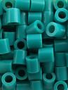 Approx 500PCS/Bag 5MM Lake Blue Fuse Beads Hama Beads DIY Jigsaw EVA Material Safty for Kids Craft