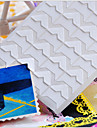 blanco bricolaje pegatina protector de esquinas foto (24 pegatinas / pcs)
