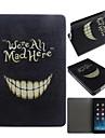Crazy Teeth Pattern PU Leather Full Body Case  for iPad mini 3, iPad mini 2, iPad mini/ mini