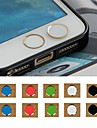 Toophone® JOYLAND 3.5mm Color Circular Button Sticker for iPhone and Samsung (Random Color)