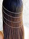falta rose®fashion borla variados cabelo pentes de liga leve de cor para as mulheres