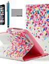 Коко fun® красочные картины точки искусственная кожа полный случай тела для Iphone 6 4.7 с экраном Protecter