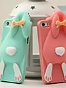 adorável silicone coelho dente de coelho Capa para iPhone 6 / 6s (cores sortidas)