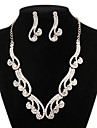 Jewelry Necklaces / Earrings Drop Earrings / Choker Necklaces Party / Daily / Casual Alloy Silver Wedding Gifts