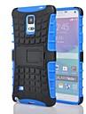 Para Samsung Galaxy Note Antichoque / Com Suporte Capinha Capa Traseira Capinha Armadura PC Samsung Note 4