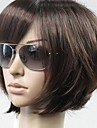 Woman\'s Vogue Brown Straight Short Synthetic Wigs