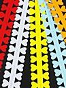 5шт 3 см х 52см любовь в форме лепестка квиллинг цветок набор бумаги творческий поделки оригами бумаги прокатки
