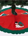 90cm 앞치마 산타 클로스 크리스마스 트리 (모듬 된 색상)