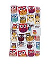 Case For Nokia Lumia 520 Nokia Nokia Case Card Holder Wallet with Stand Full Body Cases Owl Hard PU Leather for