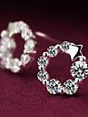 Pentru femei Cercei Stud Plastic Ștras Αστέρι Bijuterii Nuntă Petrecere Zilnic Casual Costum de bijuterii