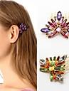 z&x® elegante cheveux multicolore luxe (deux options de couleurs: violet, vert)