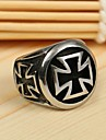 Men\'s Ring Alloy Cross Personalized Vintage Casual European Costume Jewelry