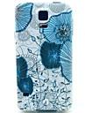 Для Кейс для  Samsung Galaxy С узором Кейс для Задняя крышка Кейс для Цветы TPU Samsung S5