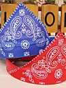 Cat Dog Bandanas & Hats Dog Clothes Black Purple Red Blue Pink PU Leather Cotton Costume For Pets Cosplay Wedding