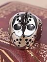Herre Statement Ring Ring - Titanium Staal, Legering Hodeskalle Statement, Personalisert, Vintage, Fritid, Europeisk Smykker Til