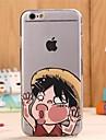 Pour Etuis coque Motif Coque Arrière Coque Bande dessinée Flexible PUT pour iPhone 6s iphone 6