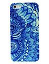 caso difícil padrão duas flores azuis para 4/4s iphone