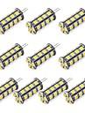 1pc 352 lm G4 Luci LED Bi-pin 30 Perline LED SMD 5050 Bianco caldo / Luce fredda 12 V / RoHs