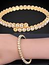 trendy moda joias de platina 18k ouro real das mulheres u7® banhado extravagante bracelete pulseira com strass austriaco