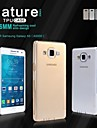 Pour Samsung Galaxy Coque Ultrafine / Transparente Coque Coque Arriere Coque Couleur Pleine TPU Samsung A5