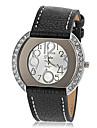 Women\'s Diamante Case PU Band Quartz Wrist Watch (Assorted Colors) Cool Watches Unique Watches