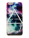 Colorful Triangle Pattern Hard Case for iPhone 6 iPhone Cases