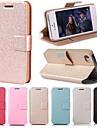DF Smooth Silk Pattern with Card Bag PU Full Body Case for iPhone 5/5S(Assorted Color)