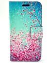 Коко fun® небо красный цветочный узор пу кожаный чехол для всего тела с защитником экрана, кабель и стилус для Motorala мото г