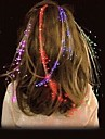привело мерцающий светящиеся вспышки волос кос новизны украшение партии festivel