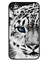 Tiger Pattern Aluminum Hard Case for iPhone 4/4S iPhone Cases