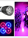 ZDM® 1шт 5.5W 5W 300-500lm E26 / E27 Растущая лампочка 5 Светодиодные бусины Высокомощный LED Фиолетовый 85-265V