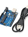 uno r3 carte de developpement microcontroleur mega328p atmega16u2 compat pour Arduino